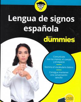 Portada Lengua de signos española para dummies