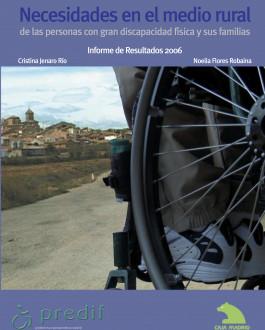 Portada Necesidades en el mundo rural de las personas con gran discapacidad física y sus familias