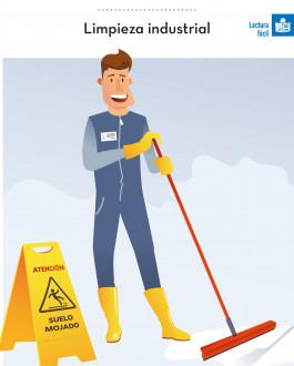 Portada Prevención de riesgos laborales. Limpieza industrial (Léctura Fácil)