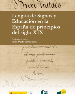 Cubierta Lengua de signos y educación en la España de principios del siglo XIX
