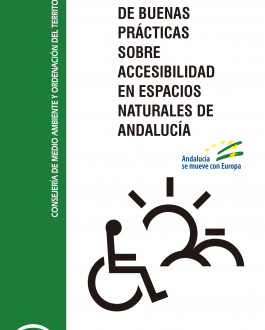 Portada Manual de buenas prácticas sobre accesibilidad en espacios naturales de Andalucía