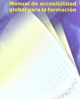 Portada Manual de accesibilidad global para la formación