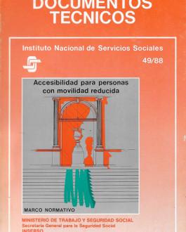 Portada Accesibilidad para personas con movilidad reducida. Marco normativo