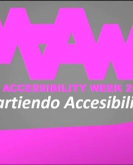 Portada del DVD Madrid accesibility week (2014)