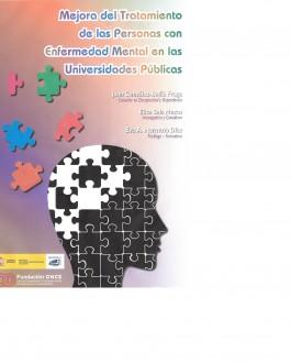 Portada del Libro Mejora del tratamiento de las personas con enfermedad mental en las universidades públicas
