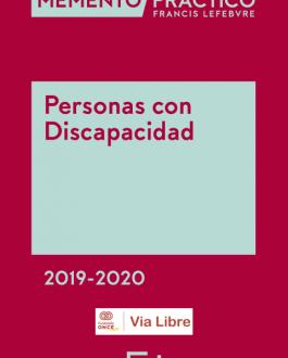 Portada Memento Personas con Discapacidad 2019-2020
