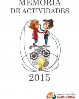 Portada Salud Mental España (Memoria 2015)
