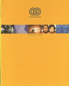 Portada Memoria de Fundación ONCE (1995)