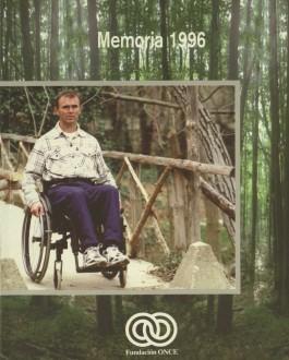 Portada Memoria de Fundación ONCE (1996)