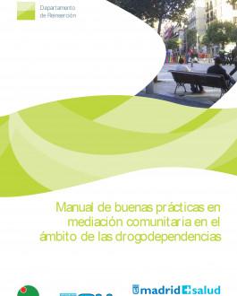 Portada Manual de buenas prácticas en mediación comunitaria en el ámbito de las drogodependencias