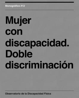 Portada Mujer con discapacidad. Doble discriminación