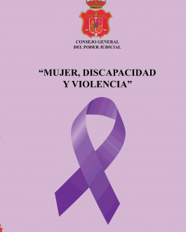 Portada del Libro Mujer, discapacidad y violencia