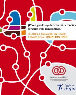 Portada folleto ¿Cómo puedo ayudar con mi herencia a las personas con discapacidad?