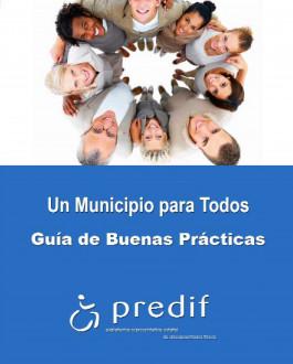 Portada folleto Un municipio para todos. Guía de buenas prácticas