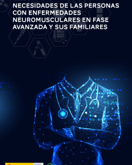 Portada Necesidades de las personas con enfermedades neuromusculares en fase avanzada y sus familiares
