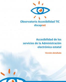 Portada Accesibilidad de los servicios de la administración electrónica estatal