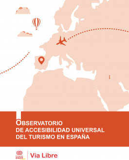 Portada del Libro Observatorio de la accesibilidad universal del turismo en España 2017