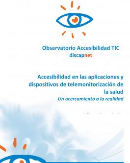 Portada Accesibilidad en las aplicaciones y dispositivos de telemonitorización de la salud. Un acercamiento a la realidad