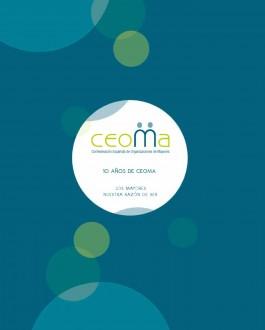 portada 10 años de CEOMA