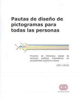 Portada del Libro Pautas de diseño de pictogramas para todas las personas