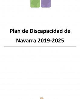 Portada Plan de Discapacidad de Navarra 2019-2025