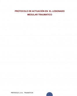 Protocolo de actuación en el lesionado medular traumatico