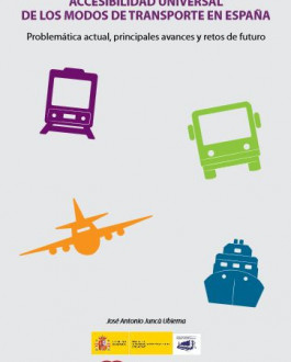 portada CD Accesibilidad universal de los modos de transporte en España. Problemática actual, principales avances y retos de futuro