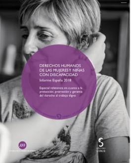 Portada Derechos Humanos de las Mujeres y Niñas con Discapacidad. Informe España 2018