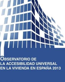 Portada del libro Observatorio de la accesibilidad universal en la vivienda en España 2013