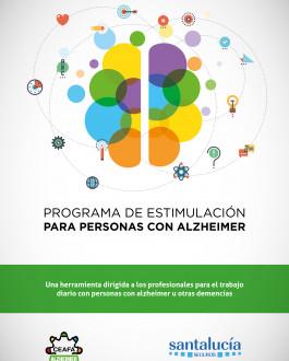 Portada Programa de estimulación para personas con Alzheimer