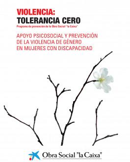Portada Apoyo psicosocial y prevención de la violencia de género en mujeres con discapacidad