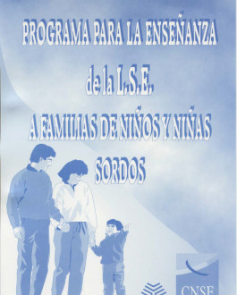 Portada Programa enseñanza LSE a familias con niños y niñas sordos
