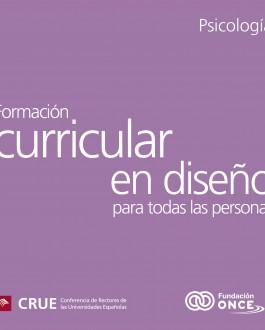 portada Formación Curricular en Diseño para Todas las Personas en Psicología