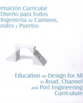 Portada Formación curricular de diseño para todos en ingeniería de camino, canales y puertos