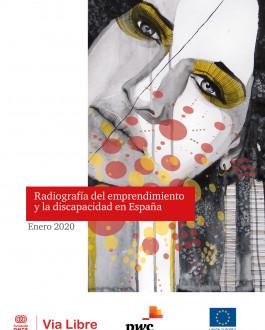 Portada Radiografía del emprendimiento y la discapacidad en España 2020