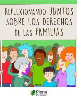 Portada Reflexionando juntos sobre los derechos de las familias