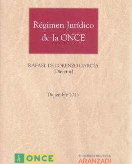 Portada del libro régimen jurídico de la ONCE