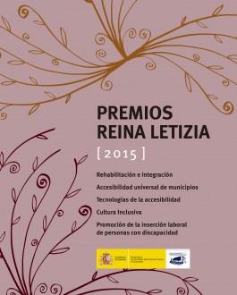 Portada Premios Reina Leticia 2015 (Real Patronato sobre Discapacidad)