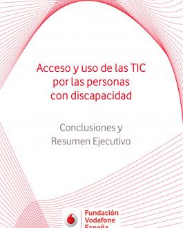 Portada Acceso y uso de las TIC por las personas con discapacidad