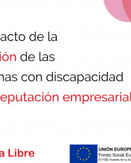 Portada Impacto de la inclusión de las personas con discapacidad en la reputación de las empresas