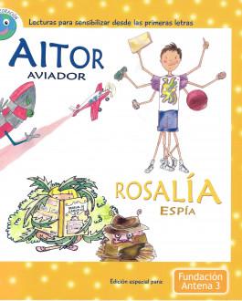 Portada Aitor aviador y Rosalia espía