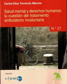 Portada del Libro Salud mental y derechos humanos: la cuestión del tratamiento ambulatorio involuntario