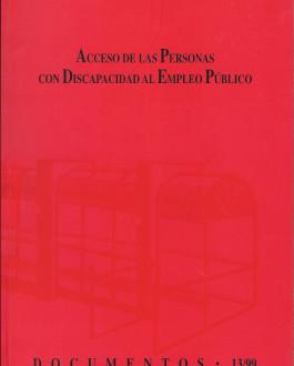 Portada Acceso de las personas con discapacidad al empleo público (13/99)