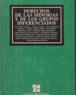 Portada Derechos de las minorías y de los grupos diferenciados