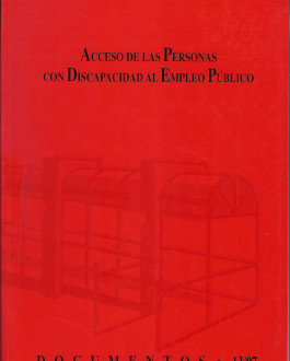 Portada Acceso de las personas con discapacidad al empleo público (13/97)