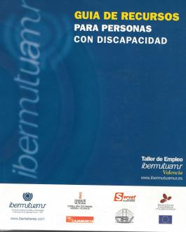 Portada Guía de recursos para personas con discapacidad (Valencia)