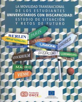 Portada CD La movilidad transnacional de los estudiantes con discapacidad: Estudio de situación y retos de futuro