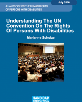Portada del Libro Understanding The UN Convention On The Rights Of Persons with Disabilities