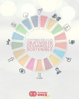 Portada Contribución de la Fundación ONCE a los Objetivos de Desarrollo Sostenible (ODS)