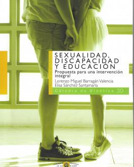 Portada del Libro Sexualidad, discapacidad y educación. Propuesta para una intervención integral